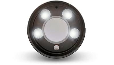H.265+対応 屋外5MPネットワークカメラ(RK-520DE1) ドットマトリックスIR LED