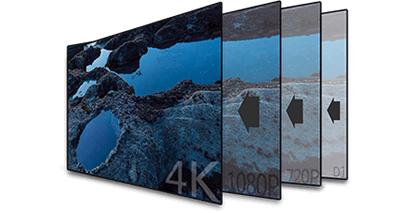 4K/H.265+対応 9CH ネットワークカメラビデオレコーダー(RK-KE109B/S)4Kネットワーク監視カメラ映像を実現