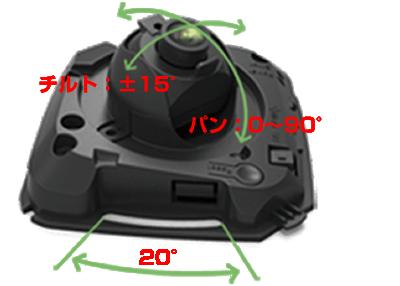 H.265+対応2MPネットワークカメラ(RK-230LE)は、3軸可動ブラケットにより自由自在に設置