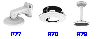 2MP 小型PTZ ネットワークカメラ(RK-260LSP)純正オプション品