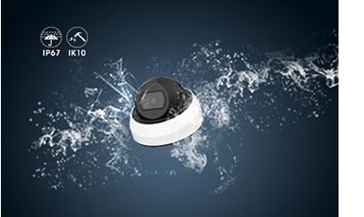 5MP 屋外 IR 小型ドーム型PoEネットワークカメラ(RK-520NE)は、高い耐候性と耐衝撃を併せ持ったネットワークカメラです。