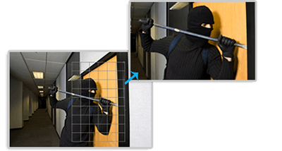 H.265+対応 屋外5MP PTZ ネットワークカメラ(RK-520P)スマートPTZモーション検出