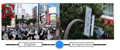 RK-530PMは、500万画素高解像度CMOSセンサに対応。