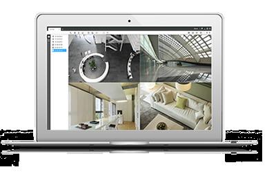 ネットワークカメラ CMS(中央集中監視システムソフトウェア)