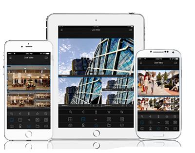 ネットワークカメラ スマートフォンアプリ
