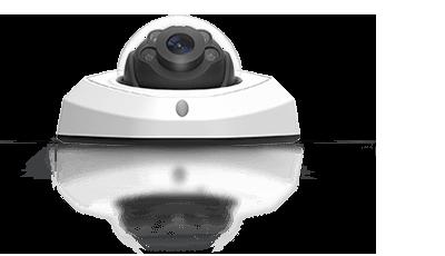 H.265+対応 5MP 屋外小型ドーム型PoEネットワークカメラ(RK-520RE)は、防塵防水性能IP67準拠に対応