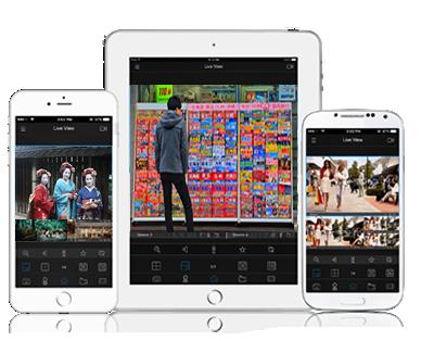 H.265+対応5MP PoEネットワークカメラ(RK-520SE) スマートフォンアプリ