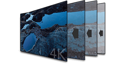 4K/H.265+対応 16CH ネットワークカメラビデオレコーダー(RK-V016)4Kネットワーク監視カメラ映像を実現