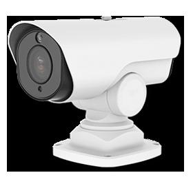 H.265+対応 屋外5MP PTZ PoEネットワークカメラ(RK-530ZE)は、据え置き設置可能な台座マウント仕様も準備しています。