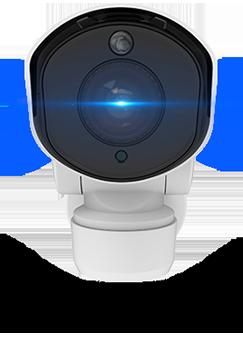 H.265+対応 屋外5MP PTZ PoEネットワークカメラ(RK-520ZE)前面写真