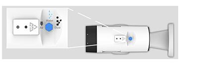 H.265+対応 屋外5MP PTZ PoEネットワークカメラ(RK-530ZE)は曇り防止のためのスクリューベントを搭載