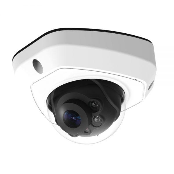 H.265+ 5MP 屋外 IR 小型ドーム型PoEネットワークカメラ(RK-520RE)