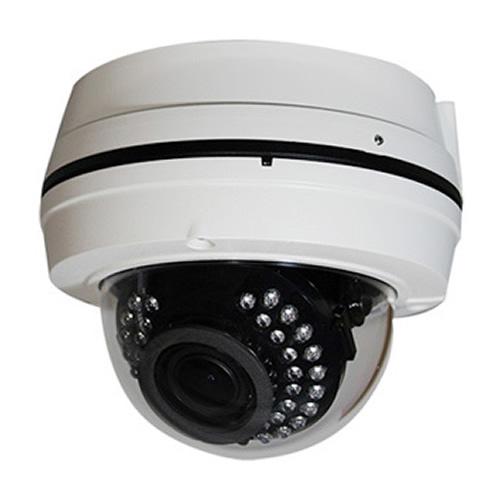 HD-SDI 電源重畳屋外ドーム型赤外線監視カメラ(RK-H350_VP)