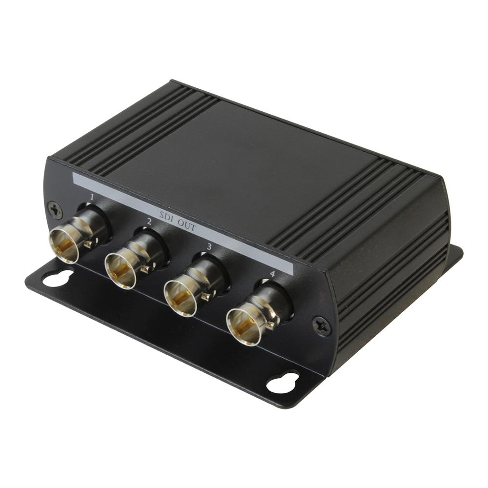 3G-SDI / HD-SDI 1入力4分配器(SDI04DE)