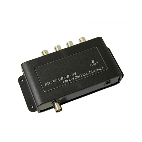 HD映像1入力4分配器(CD104HD)