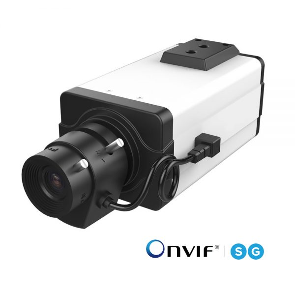 H.265+対応 8MP C/CSマウント PoE ネットワークカメラ(RK-815BE)