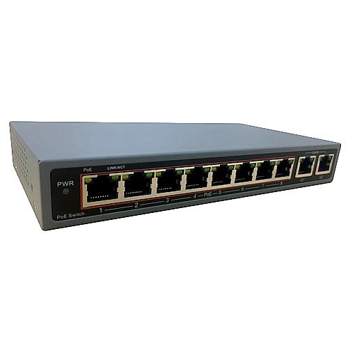8CH PoE給電(120W)スイッチングハブ (AP-POE08)