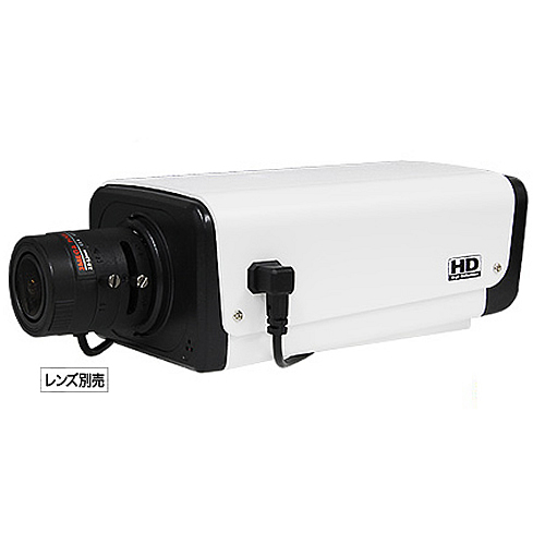 EX-SDI /HD-TVI 514万画素ボックス型監視カメラ(AP-CM109EX)